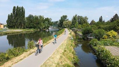 A vélo vers les hortillonnages